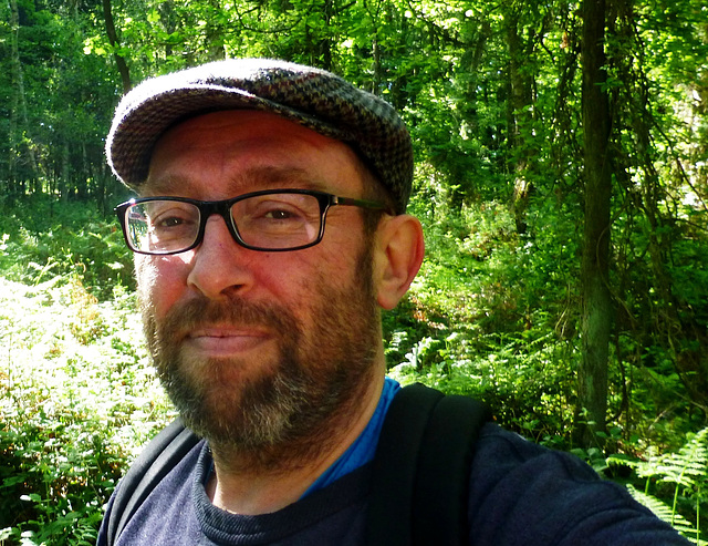 DE - Remagen - me, at the Apollinaris trail