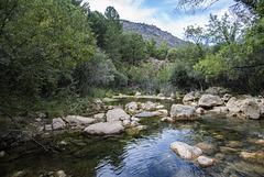 Río Guadalquivir cerca de su nacimiento. Parque de la Sierra de Cazorla.