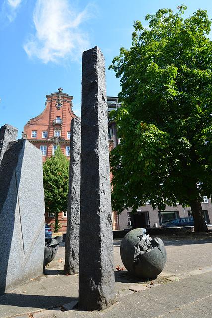 Skulptur am Klingberg