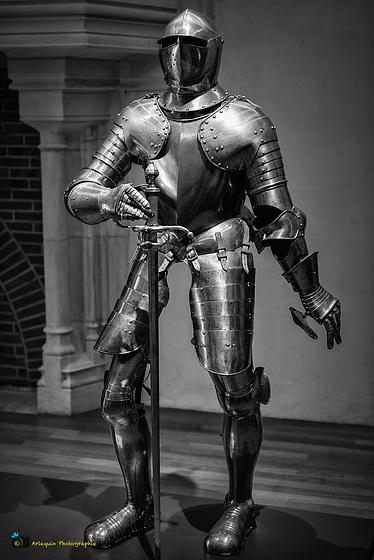 Ritterrüstung im Musée des Beaux-arts de Dijon
