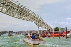 Venezia - Bridge of the suspension railway