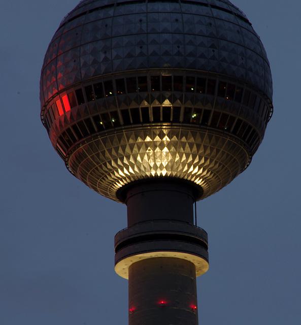 Fernsehturm Berlin Sonnenuntergang