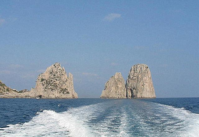 Italie/Italy/Italia : au large de Capri