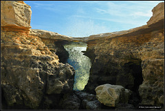 #6 Pont du diable - Devil's bridge  / earth, water, air and....... fire