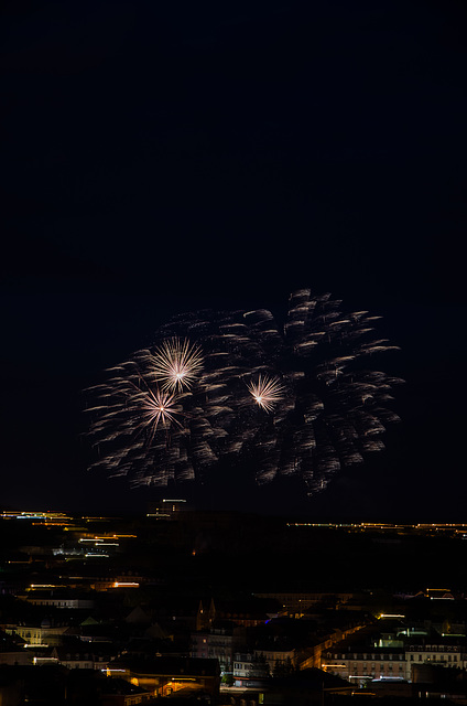 BELFORT: 2015.07.13 Feux d'artifice. 01
