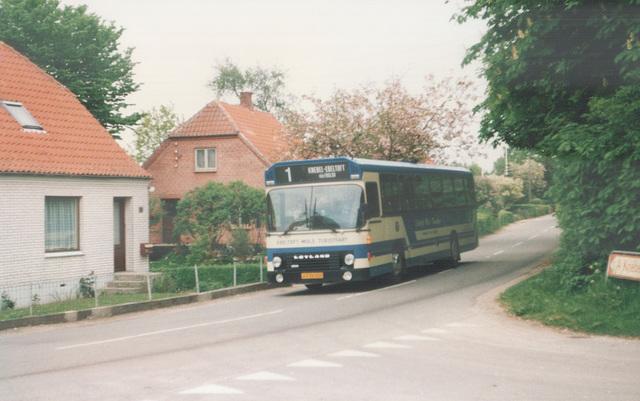 Rugaard JY 92 409 bus at Tved - 26 May 1988 (Ref: 66-32)