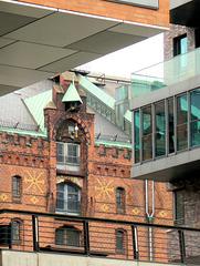 Am Sandtorhafen Hamburg: Blick in die Vergangenheit