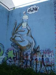 Graffiti, by Utopia.