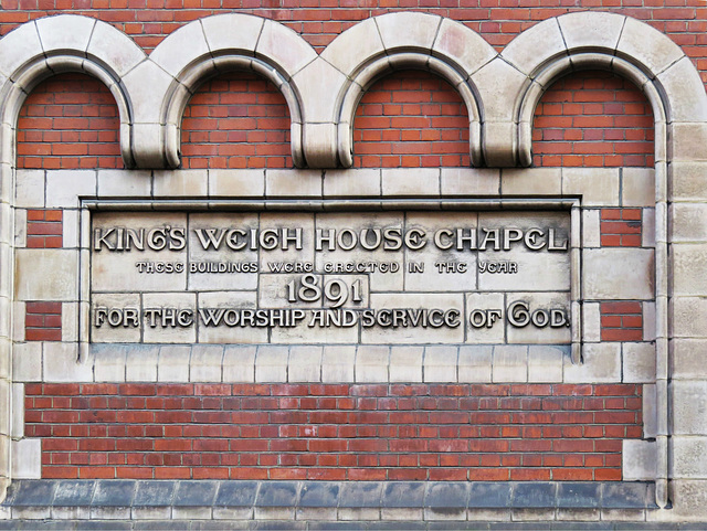 king's weigh house chapel, duke st., mayfair, london