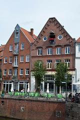 Gemütliche Altstadt in Stade