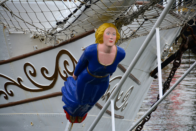 Sail 2015 – Figurehead of the Christian Radich