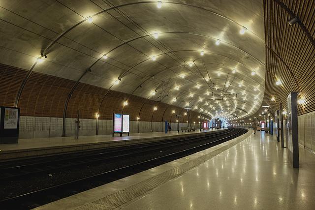 MONACO: La gare 01