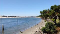 Dunes sur la gauche / Watching dunes on the left