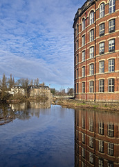 White Cart Water, and Anchor Mill, Paisley