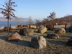 Geschiebegarten Stöbnitz Gesteinsgruppe Ergussgesteine