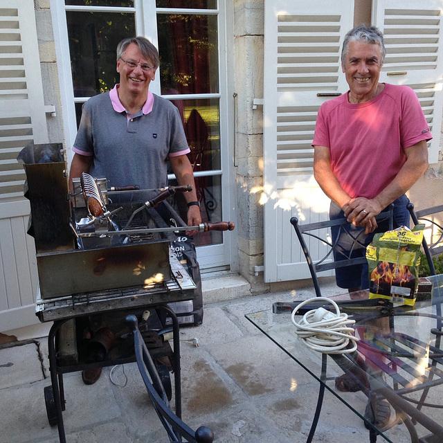 Yves&Bernard-barbecue