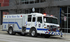 Fort Worth Fire Truck - 11 February 2020
