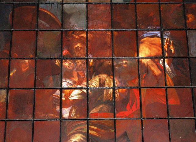 Detail of East Window, St Paul's Church, Birmingham