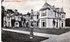 Anton's Hill House, Borders, Scotland c1910