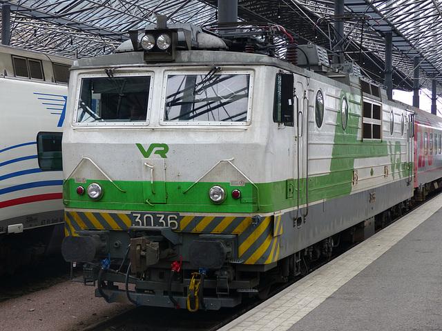 VR 3036 at Helsinki - 5 August 2016