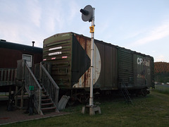Entrée ferroviaire