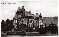 Saint Mary's Tower, Birnham, Perthshire (Demolished c1968)
