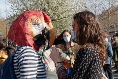 Le port du masque est conseillé