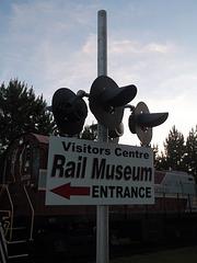 Museum on rail
