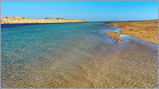 Sharm el Sheikh : Ras Mohammed - ' The enchanted lake': ora la marea sta salendo...