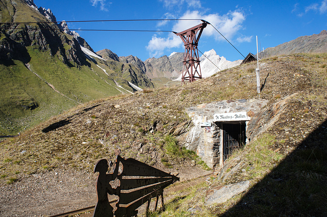 Bergbaurevier Schneeberg.