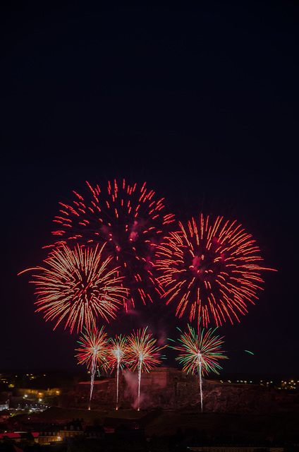 BELFORT: 2015.07.13 Feux d'artifice. 02
