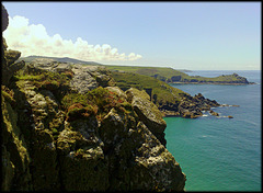 Gurnard's Head and Carn Galva from Zennor Head