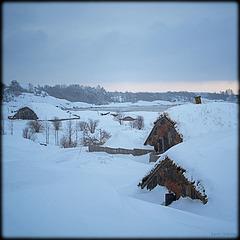 """Shire"" in winter"