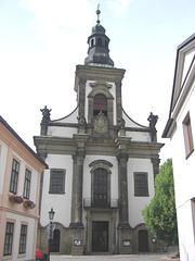 Ústí nad Orlicí - Preĝejo de Avancigo de Sankta Kruco
