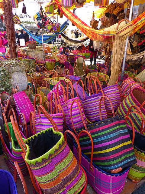 ...les marchés de Provence...en passant par Madagascar...