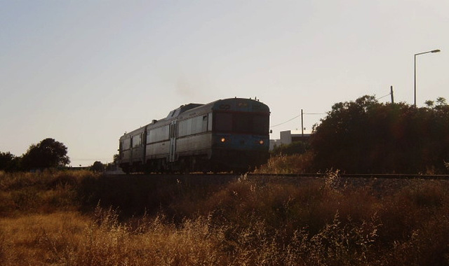 Short regional train.