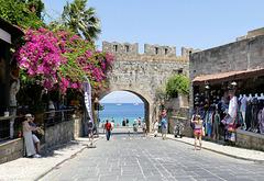 Porte de sortie et fin du séjour à Rhodes !
