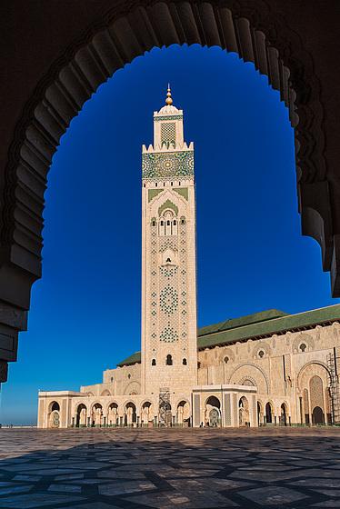 Hassan-II.-Moschee. Casablanca
