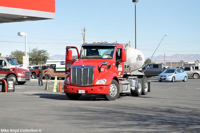 groendyke transport pb 579 tanker kingman az 01'15 01