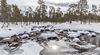 Creek Pakajoki in Vätsäri wilderness