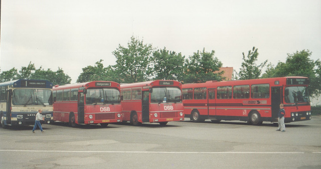 Buses at Knebel - 2 June 1988 (Ref: 69-09)