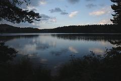 Un lac en lozère.