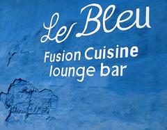 Le bleu gastronomique