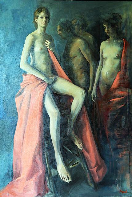 Art figuratif de François Legrand , peintre français