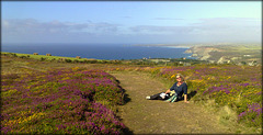 Val at St Agnes Beacon