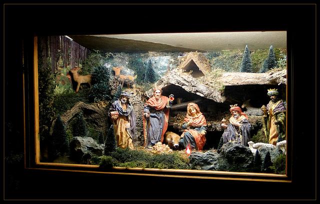 Nativity in Baarn, the Netherlands...