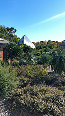 Botanical gardens and tropical house