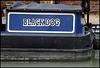 Black Dog narrowboat