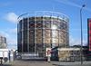 Gas holder Old Kent Road 21.01.06