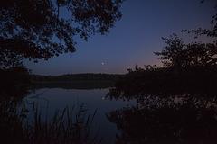 Mondfinsternis + Mars